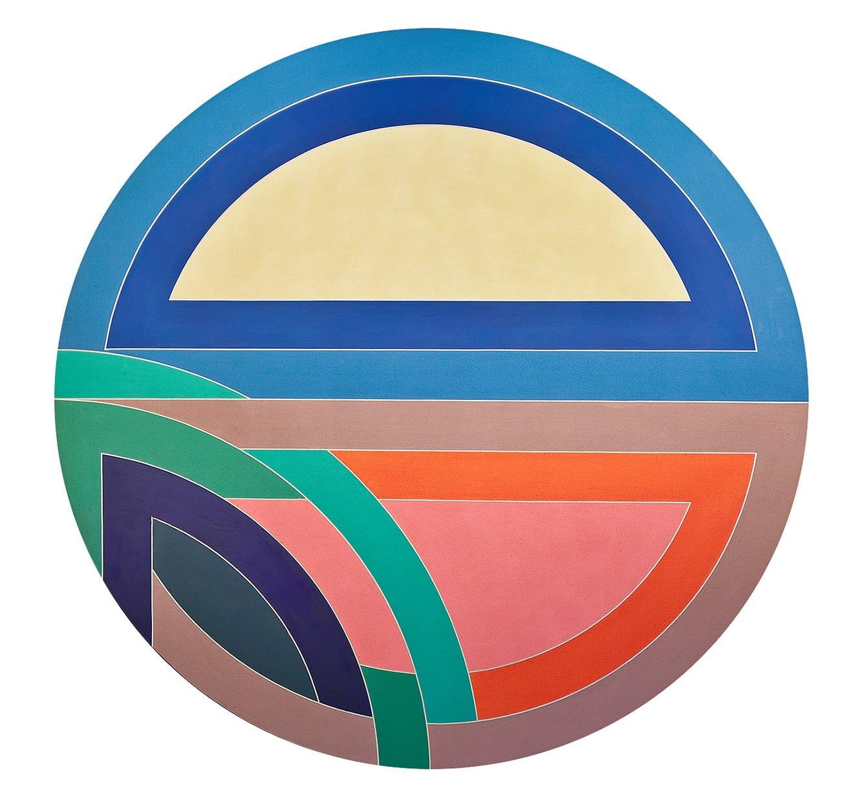 Frank Stella's Sinjerli artwork.