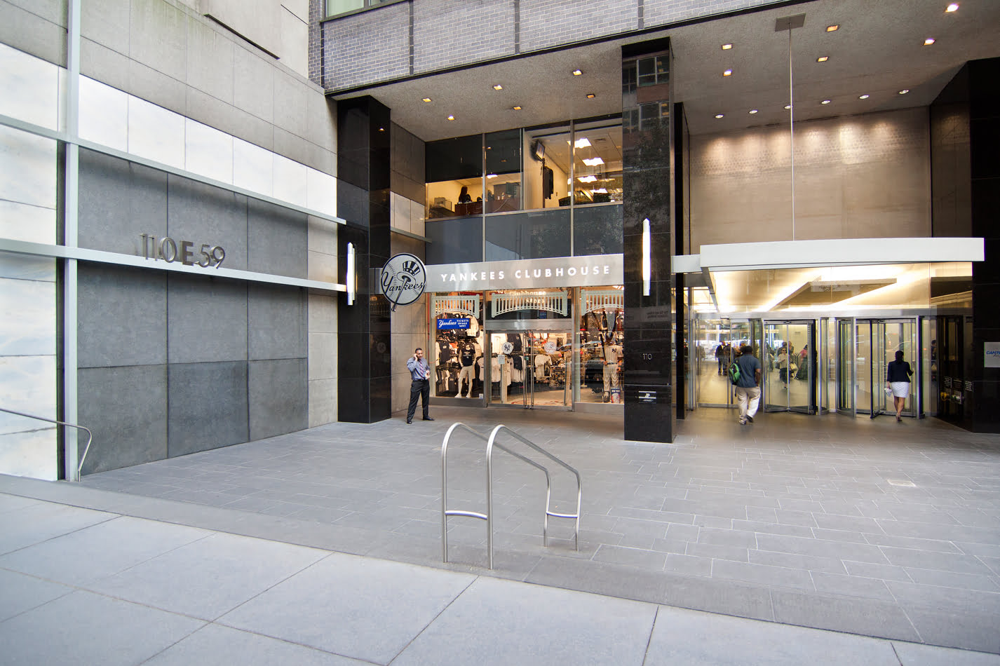 110 East 59th Street retail space between Park Avenue and Lexington Avenue