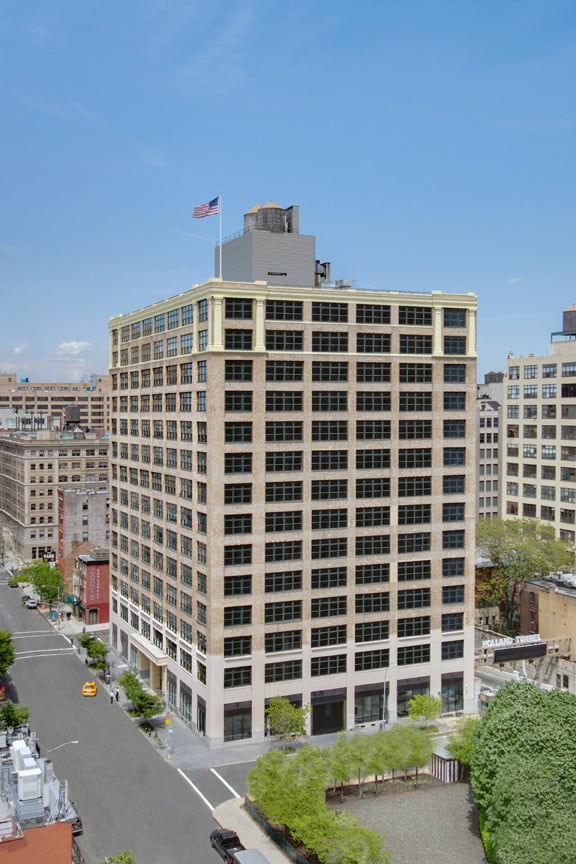 View of entire building at 250 Hudson Street
