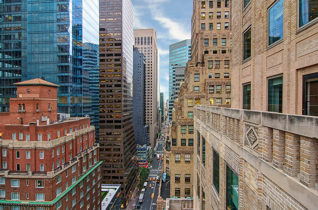 North Manhattan view from 21st floor at 485 Madison Avenue