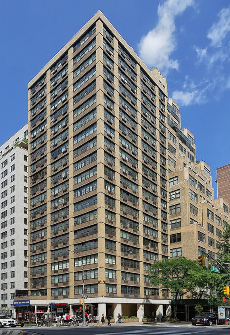 View of entire building at 301 East 45th Street